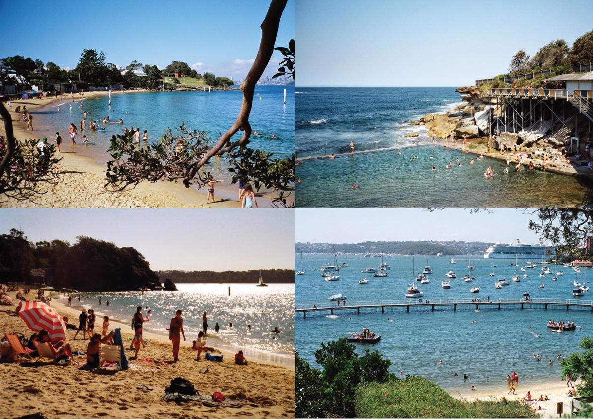 Minimap: Sydney Swimming Spots. More minimaps in: www.superminimaps.com