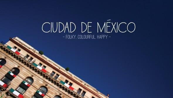Folky, Colourful, Happy Ciudad de Mexico Minimap. See more in superminimaps.com