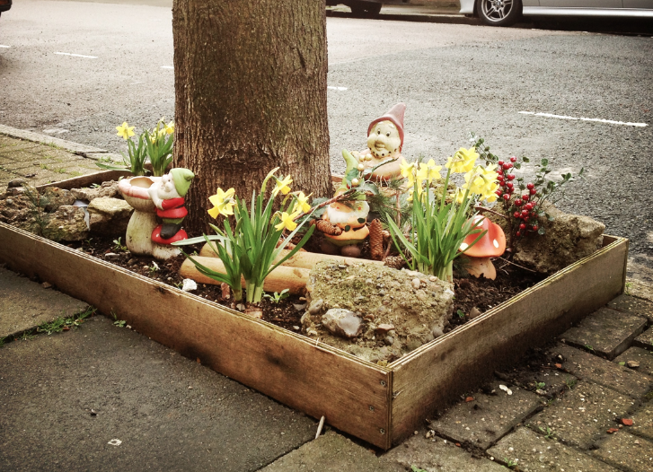 Gnome Island in Highbury & Islington - London.