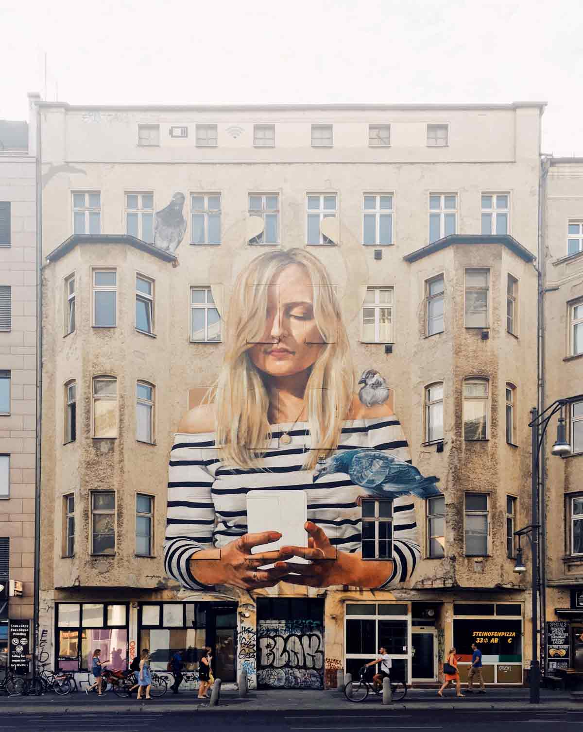 Grafitti at Schönhauser Allee 187. Photo: Pavel Nekoranec via Unsplash.