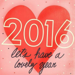 Let's make 2016 lovely!