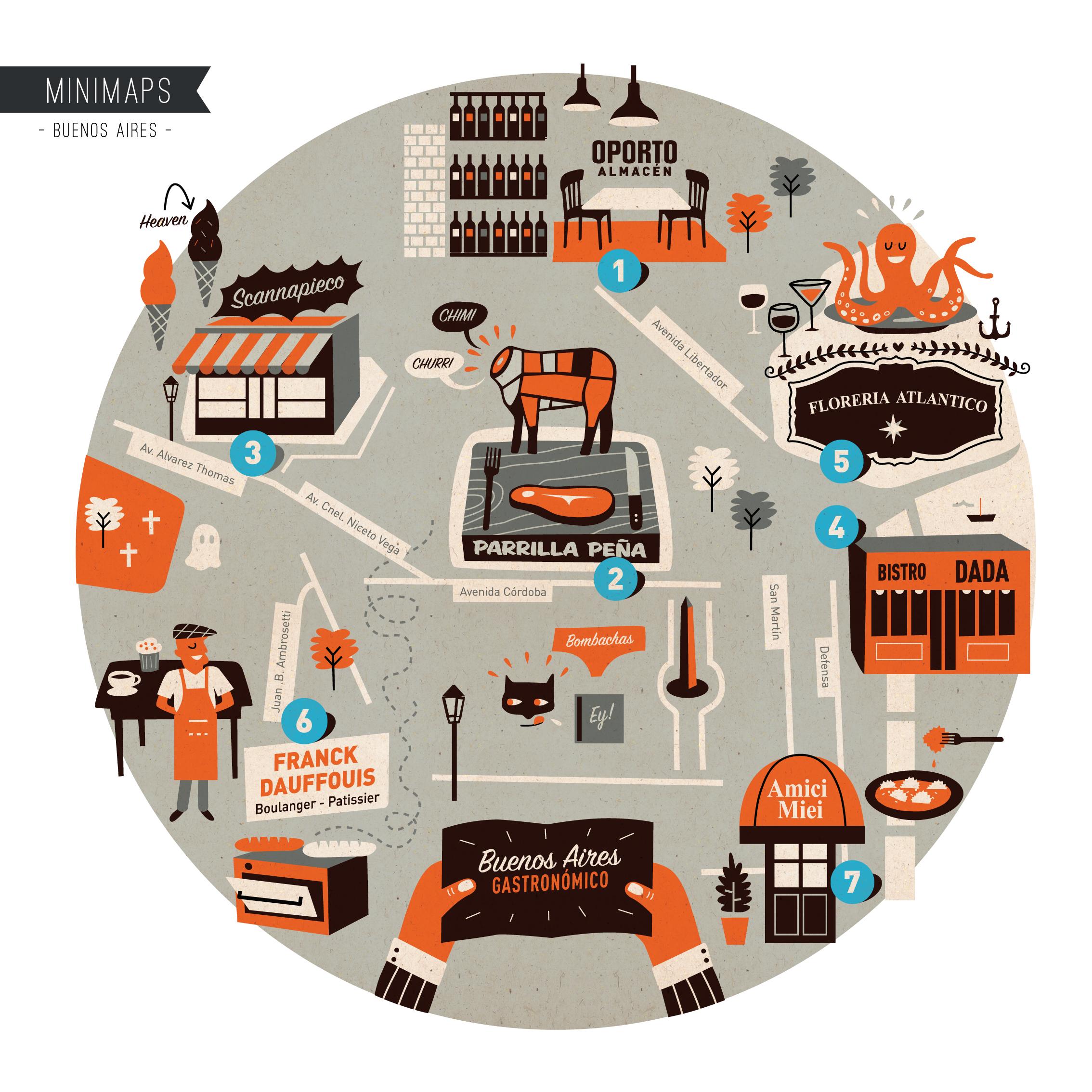 Buenos Aires Minimap - More: www.superminimaps.com