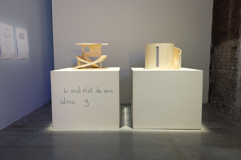 Le seul état des mes idées de Jean-Michel Alberola, L'aventure des détails, Palais de Tokyo. Photo : Ana Laya