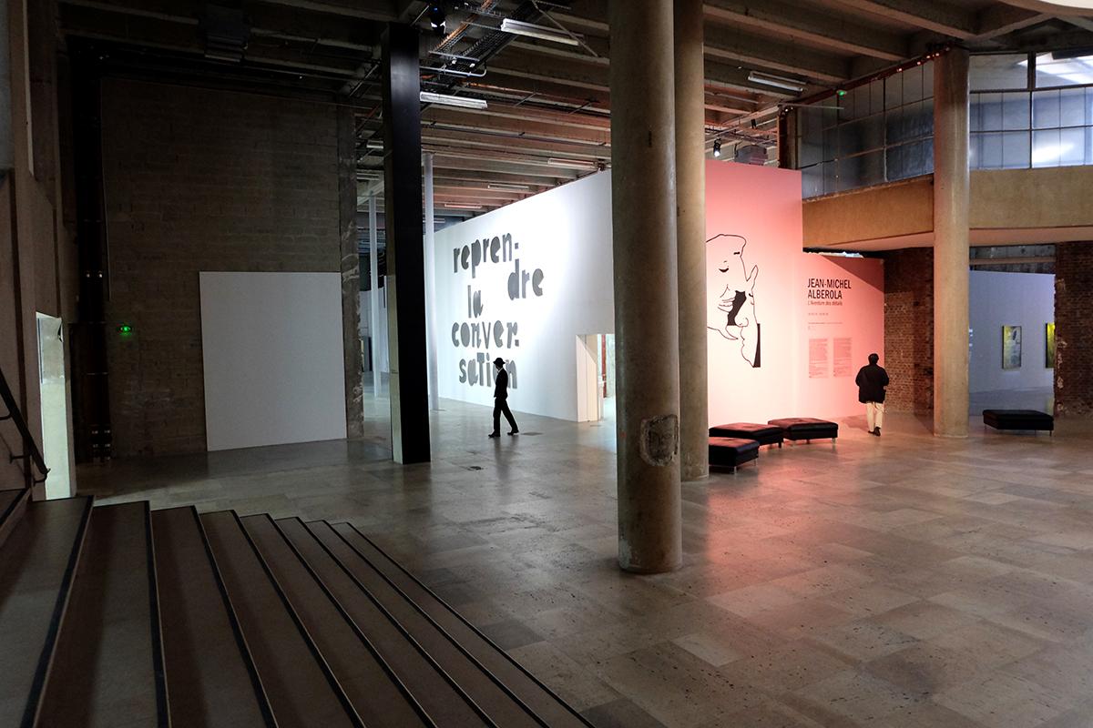 L'aventure des détails de Jean-Michel Alberola at Palais de Tokyo. Photo: Ana Laya.