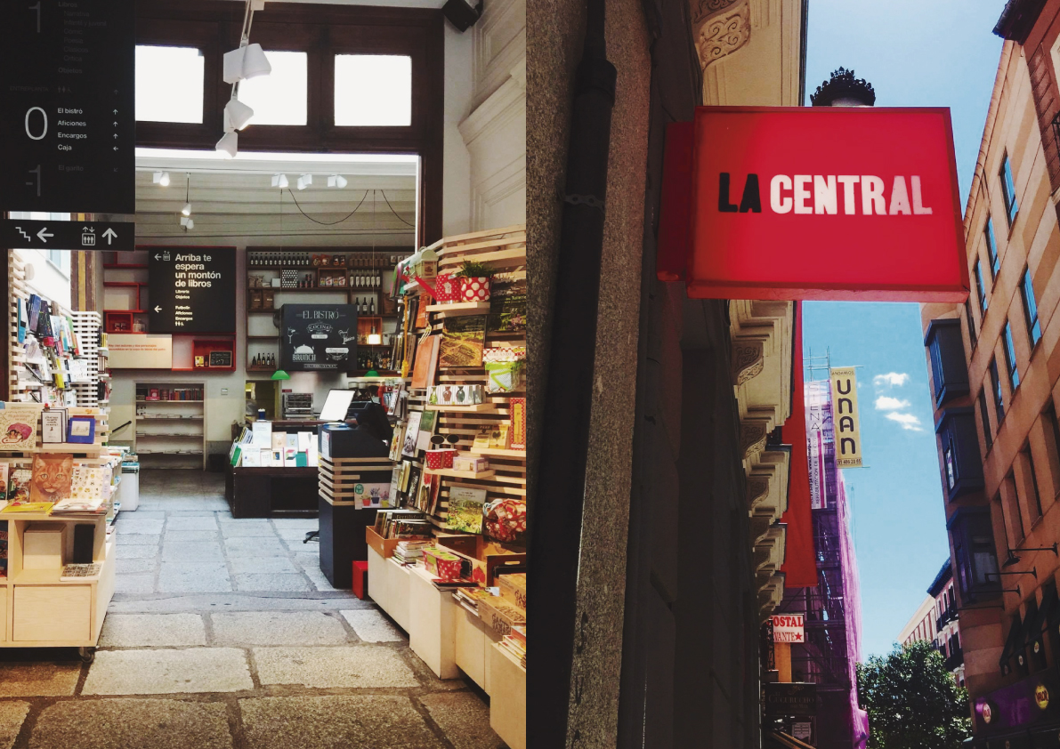 La Central. Everything you need book-wise... and then some!