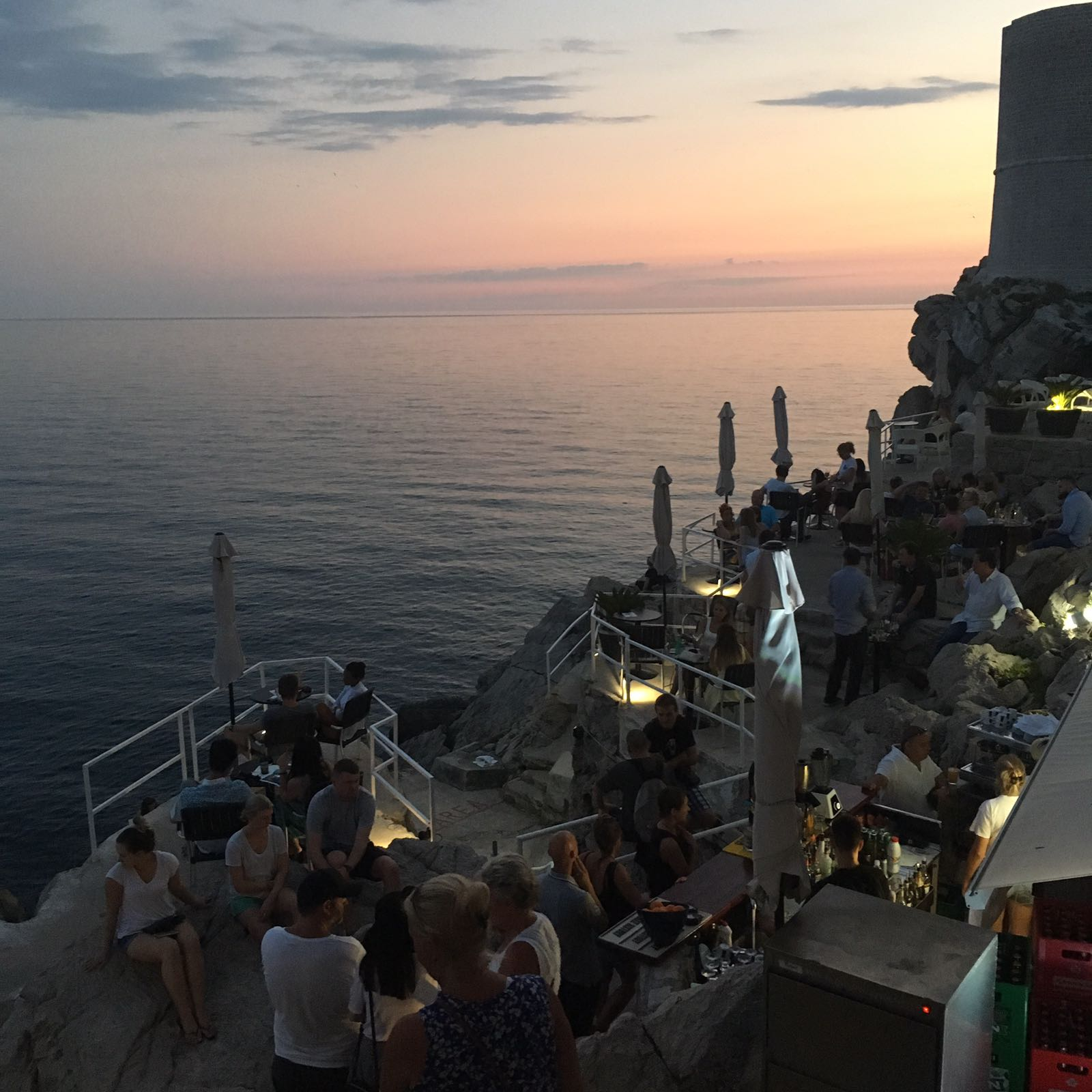 Buza Cafe Sunset Dubrovnik