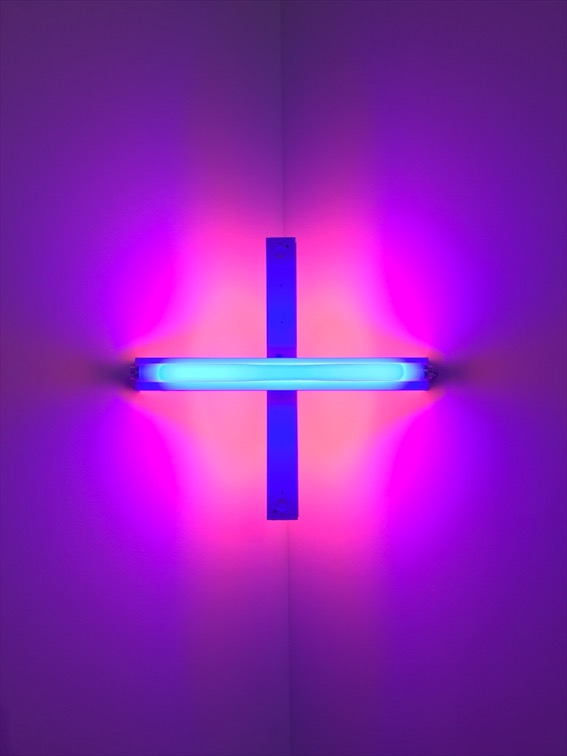 Dan Flavin. Untitled (2017).