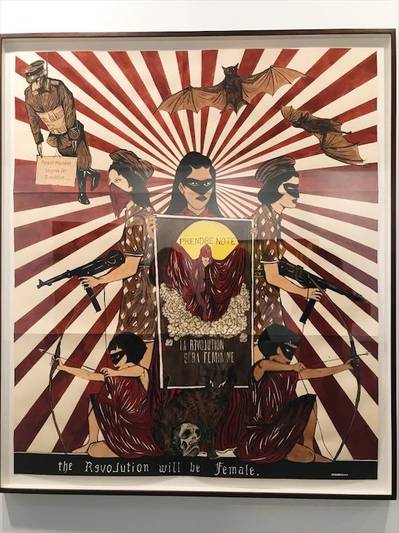 Marcel Dzama. La révolution sera fémenine (2017)