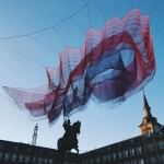 JANET ECHELMAN'S '1.78 MADRID ' AT THE PLAZA MAYOR