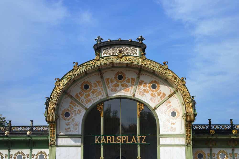 Karlsplatz Pavilion. Photo vía Toujours Etre Ailleurs.