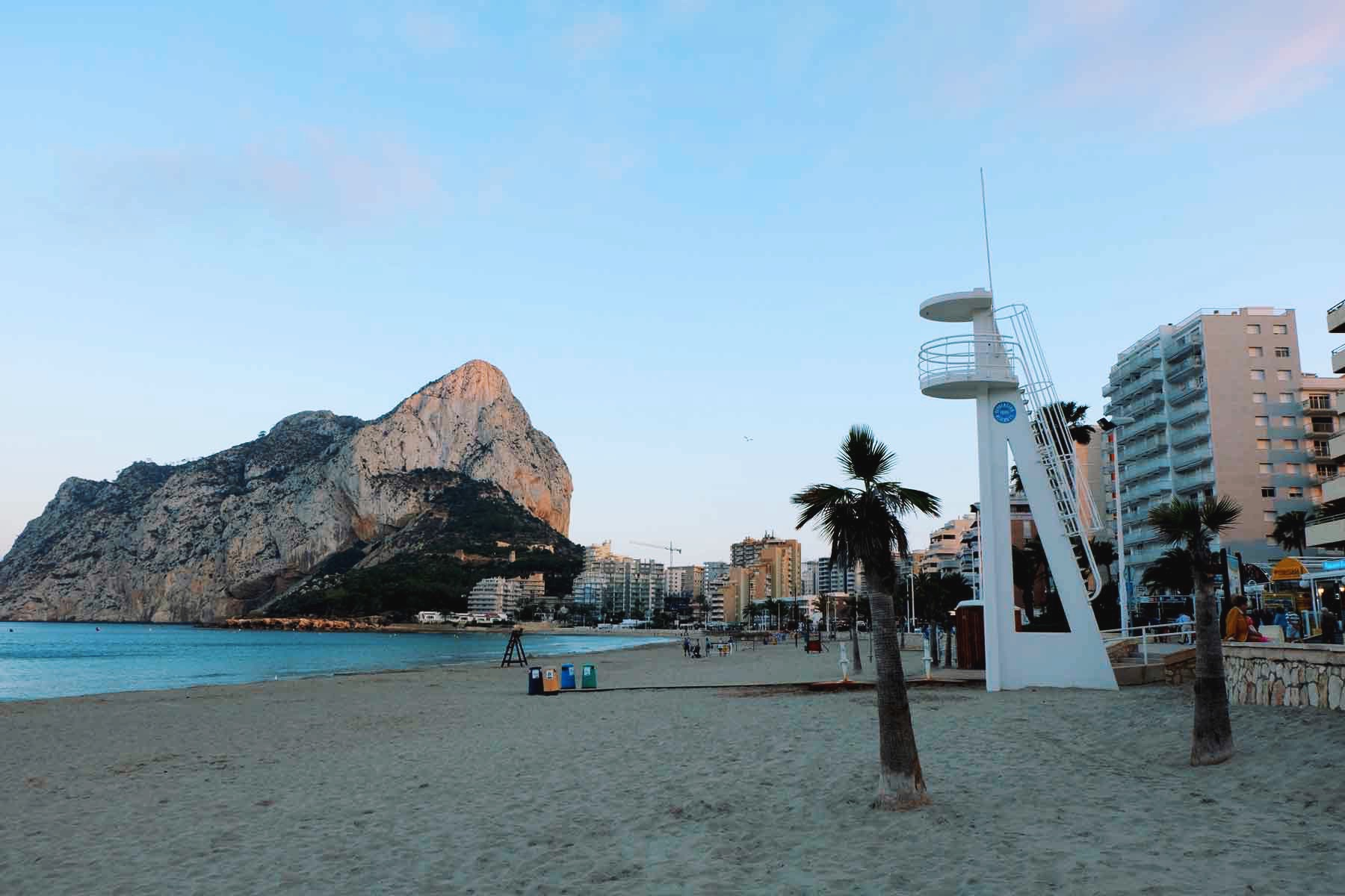 A postcard. From Calp, with love.