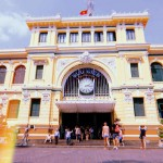 SAIGON'S CENTRAL POST OFFICE