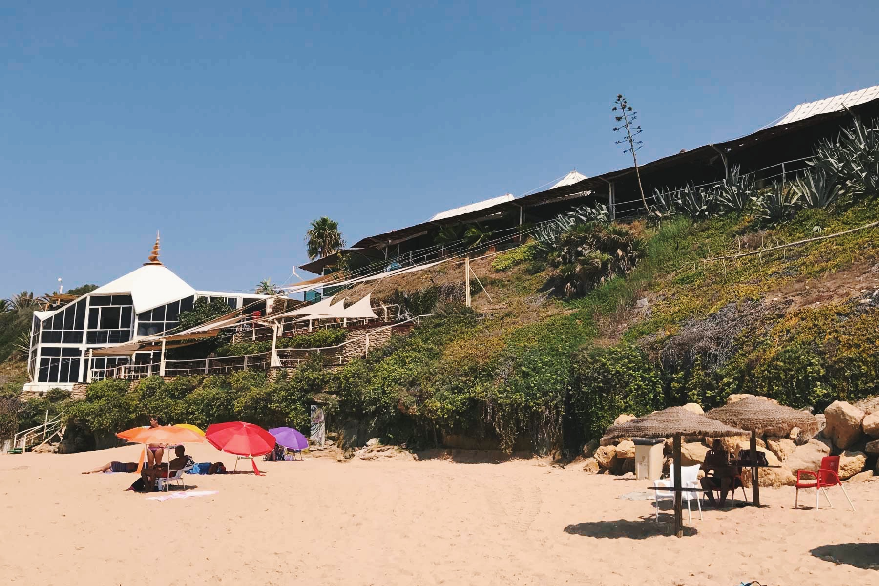Caños de Meca is usually very busy during August. I visited in Early September and it was perfect.