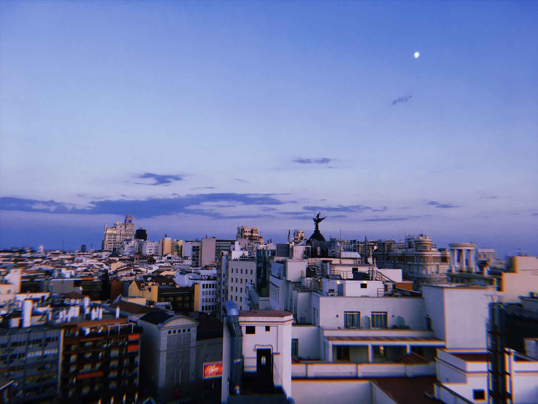 This is part of the view from the terrace | Photo: Superminimaps.