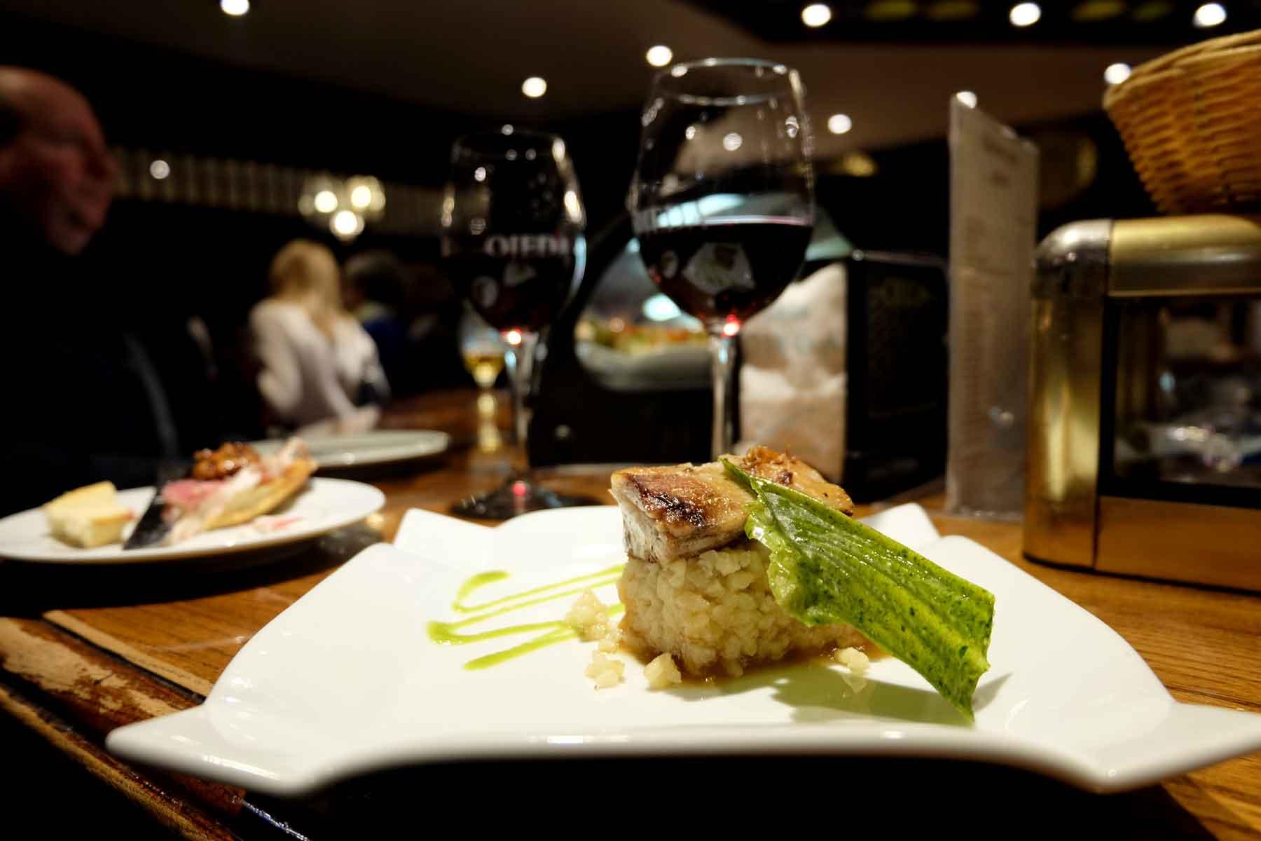 Ribera del Duero & Sucking Lamb & Risotto Tapa @ Restaurante Casa Ojeda