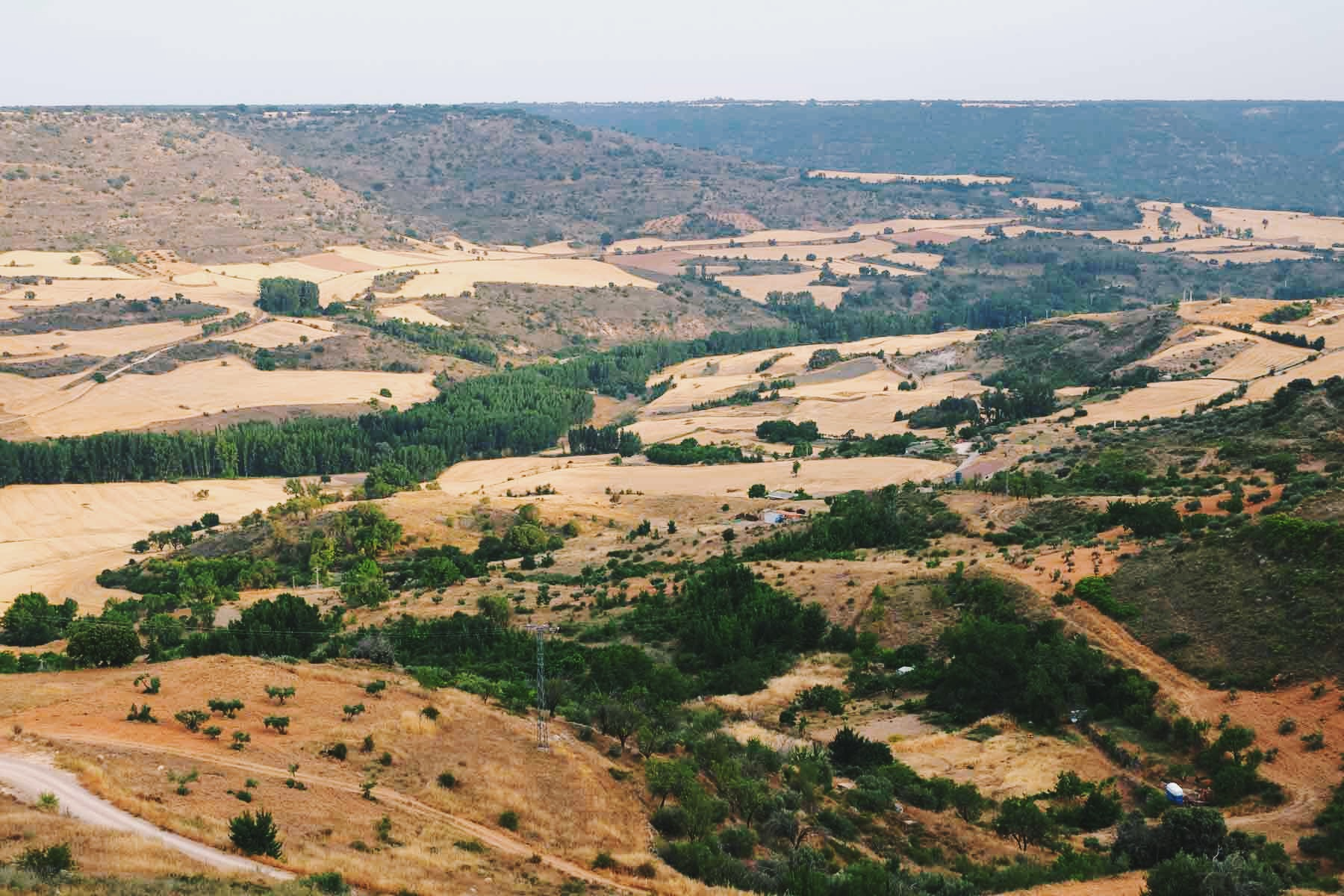 Los alrededores de Brihuega.
