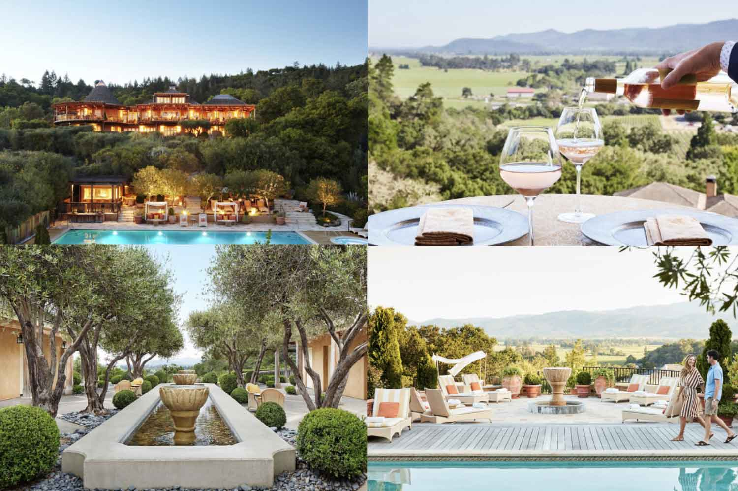 """The quintessential Napa Valley adult getaway"". 