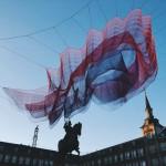 JANET ECHELMAN'S '1.78 MADRID ' AT THE PLAZA MAYOR